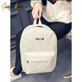 Guapabien Black White Preppy Style Backpacks Women Men canvas rucksack clutch famous designer shoulder crossbody bags backpack