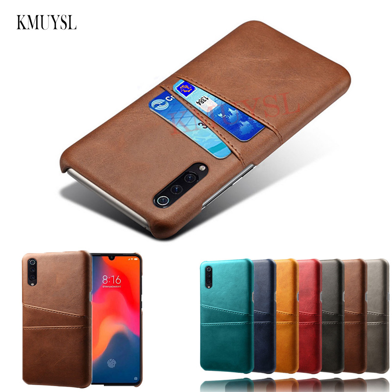 Leather Card Holder Case For Xiaomi Redmi Note 7 5 6 Pro Mi 9 SE Mi A1 A2 Mi8 Lite Pocophone F1 Redmi 7 Pro Y3 6A 5 Plus S2 Case
