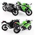 1:12 Качество Детский Мини Мотоцикл Kawasaki Ninja 250 Die cast модель motor bike Сплав металла модели гоночный автомобиль игрушки для мальчики