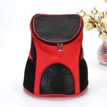 Pets Cat Carrier Bag Breathable Cote Shoulder backpack handle Carry Puppy Small Dog Breeds Pet Backpack