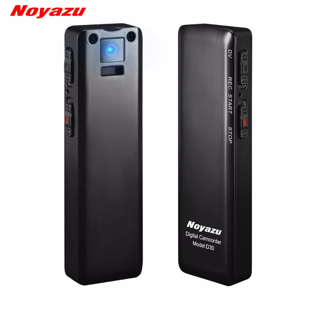 NOYAZU D30 Filmadora Gravador de Voz Digital Profissional Mini - Áudio e vídeo portáteis