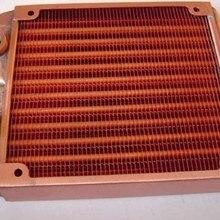 Медный радиатор водяного охлаждения Топ 120 Катюша 12 см компьютерный радиатор водяного охлаждения TOP120T YU1450