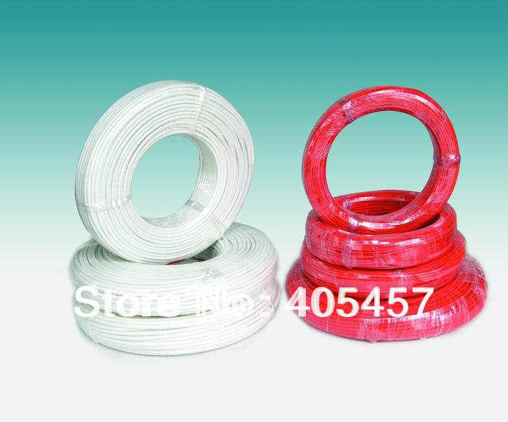 4.0 mm2 high temperature wire,high temperature resistant power cords repairing plastic hardware high temperature resistant wire roll red 250m