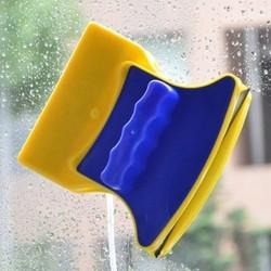 Magnetyczne szczotka do mycia okno dwustronnie urządzenie do czyszczenia 3 8MM szklane okna przewodnik narzędzi gospodarstwa domowego wycieraczka magnes w Szczotki do czyszczenia od Dom i ogród na