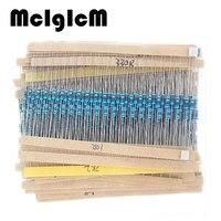 99002 600 Pcs 30 Kinds Each Value Metal Film Resistor Pack 1 4W 1 Resistor Assorted