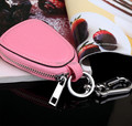 2015 Fashion Design Korean Style Lady/Men Leather Car Key Case /Key Holder Multifunction Birthday/Christmas Gift