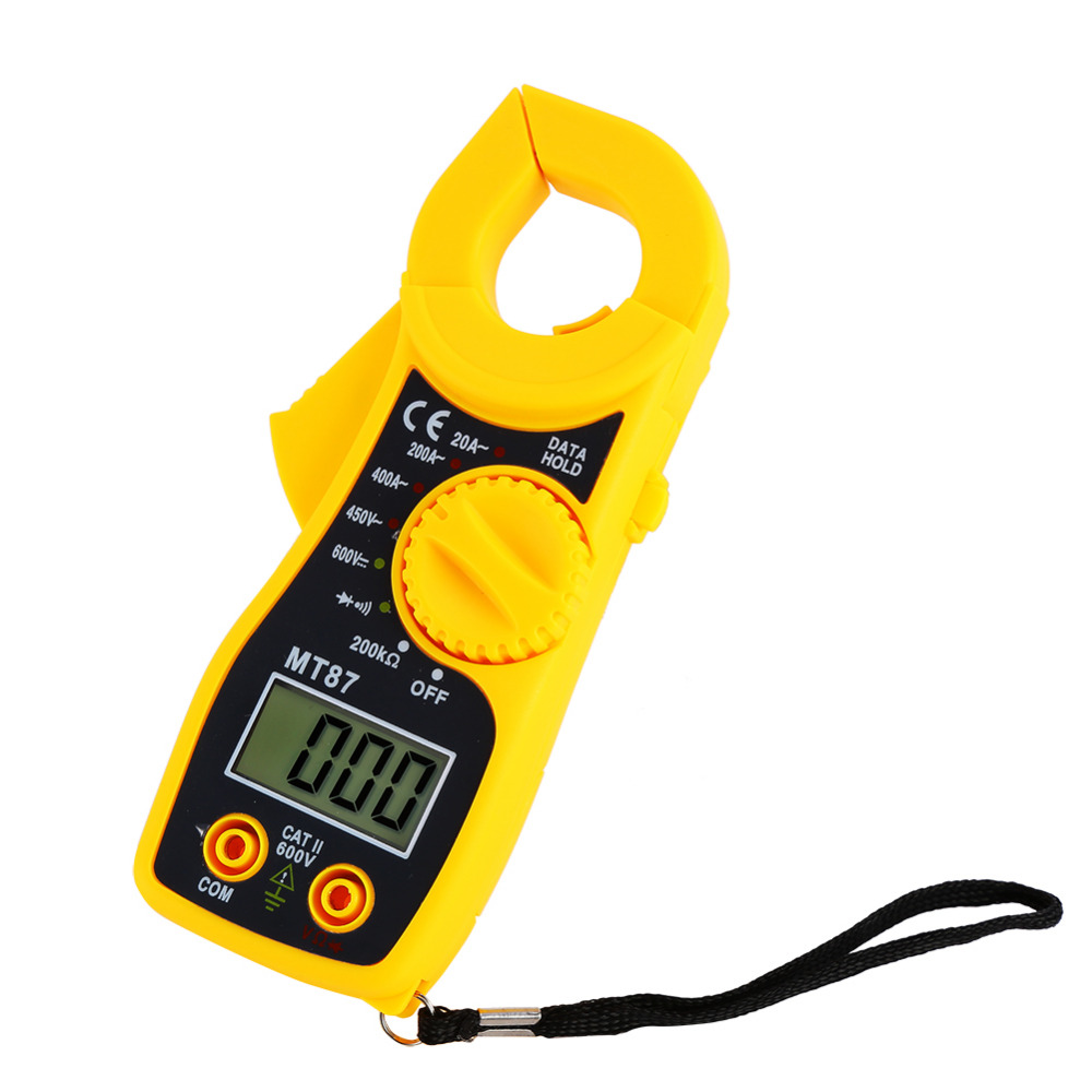Mt87 Lcd Digital Clamp Meter Multimeter Voltmet Useful Electric Tools Home Improvement Electrical Testers Voltage Tester Blue Color In Multimeters From On Alibaba Group