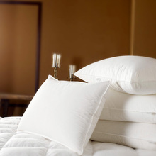 Bedding Neck Pillows 100% Cotton 30% White Goose Down 5 Stars Single 1 Piece Comfortable 5 Stars Hotel Pillow Home Textiles