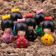 Japan Girl Miniature Garden Home Houses Decoration Mini Craf
