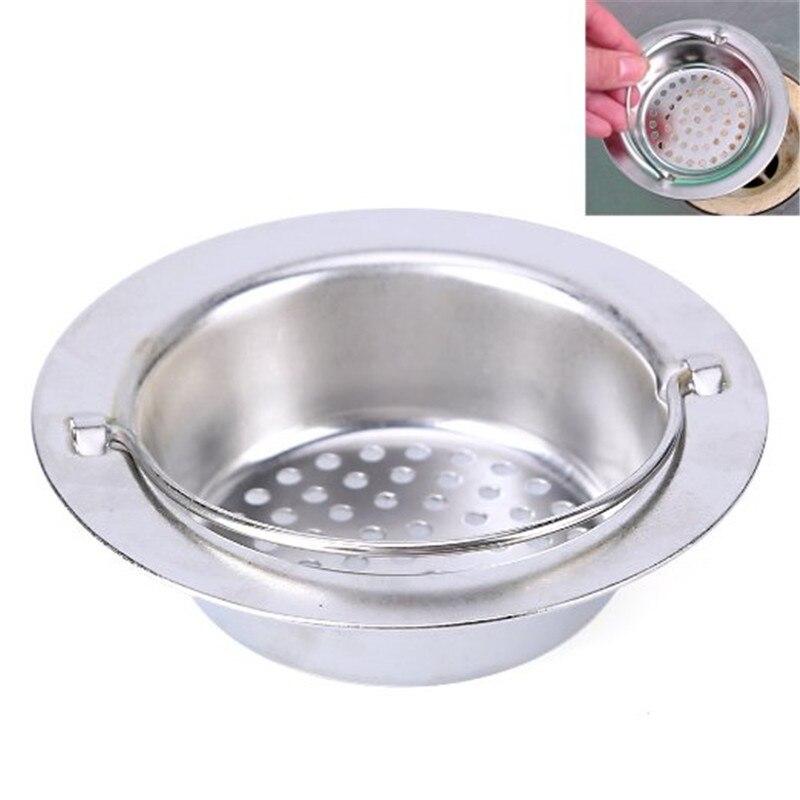 Size M Kitchen Sink Strainer Stainless Steel Waste Basket Shaped Stopper Sink Drain Filter Holder Home Kitchen Konozsigns Com
