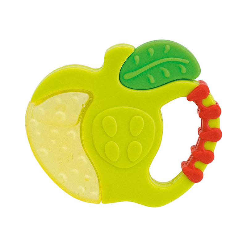 Baby Teethers Chicco toy Fresh Relax Fruits, 4 months +, Apple синийцвет 3 6 months
