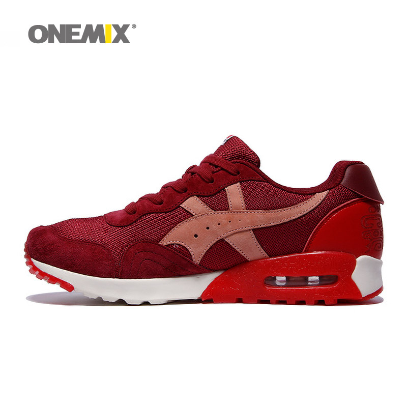ONEMIX Top Quality Brand Mens Running Shoes 9 Colors with Lace-Up Sport Shoes Athletic for Men Sneakers EUR 39-45 For Sale 1085