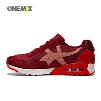 ONEMIX Top Quality Brand Mens Running Shoes 9 Colors With Lace Up Sport Shoes Athletic For