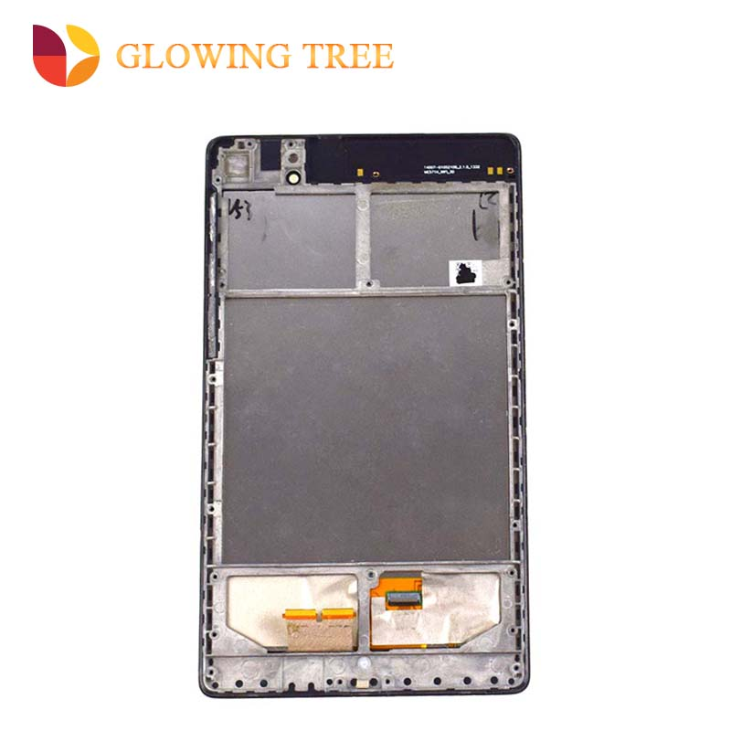 Wifi Version For ASUS Google Nexus 7 2nd ME570 ME571 Gen 2013 Touch Screen Digitizer + LCD Display Monitor Assembly with Frame цена