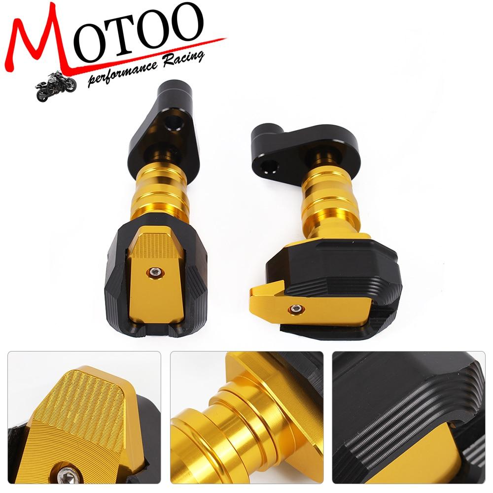 Моту - бесплатная доставка ЧПУ пять Цвет мотоцикла для BMW S1000RR S1000XR F800R K1300R/1200р Рамка слайдер Анти-Авария протектор