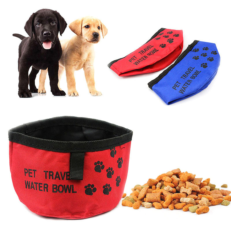 Portable Dog Pet Travel Collapsible Food Water Bowls Pets: Aliexpress.com : Buy 2018 Portable Pet Dog Bowls Cat