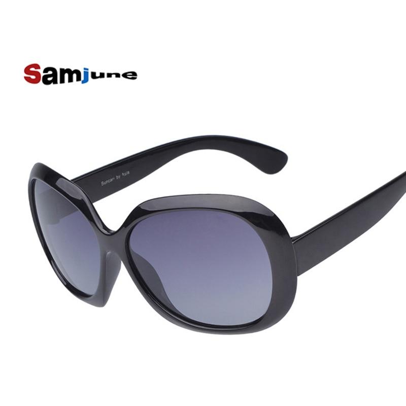 Samjune Nuevo diseño Gafas de sol polarizadas para mujer Gafas de sol de lujo Gafas de ocio vintage Marca de moda Gafas de sol