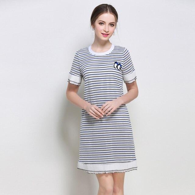 5xl Women Casual Dresses Plus Size European Woman Big Size Botton