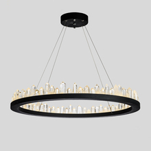 Modern Led Chandelier Lighting With Remote Control Aluminum