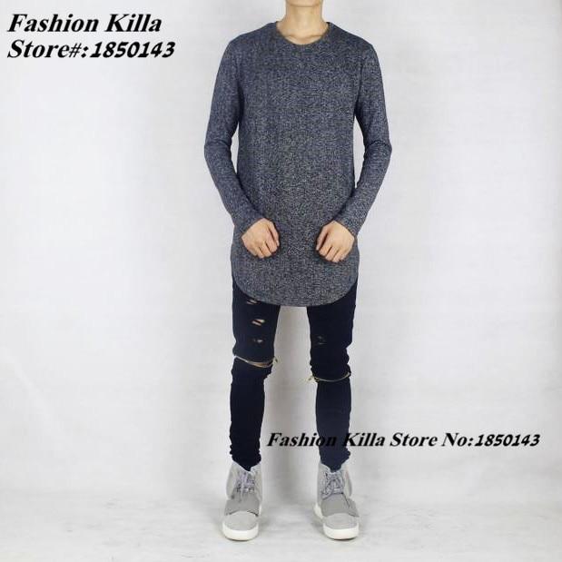 Aliexpress.com : Buy Designer Clothes Oversized Mens Long Sleeve T ...
