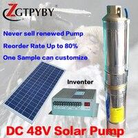 3FLD2.5 15 24 140 solar irrigation pumps 2 years guarantee DC 24 volt solar wells pumps solar pool pump kit
