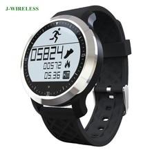 Jwireless F69 Bluetooth Смарт Браслет IP68 Водонепроницаемый наручные часы-пульсометр плавание Браслет Носимых устройств