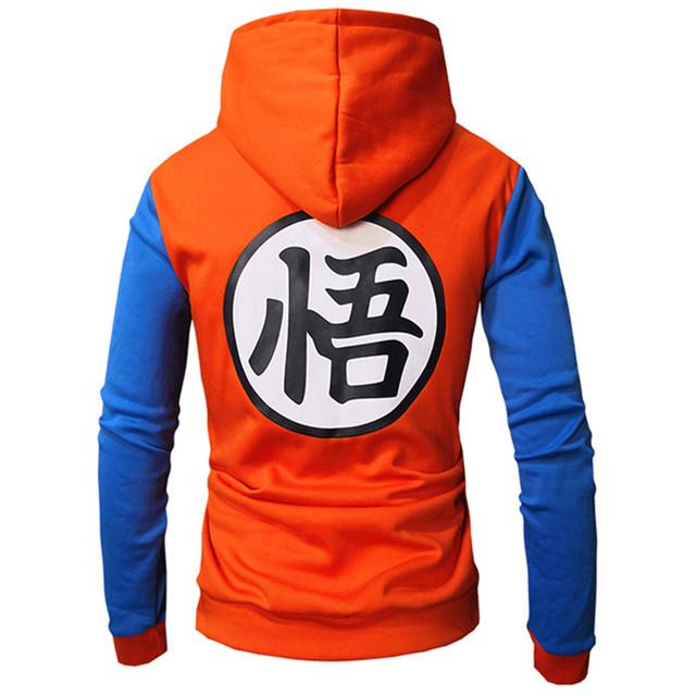 Dragon Ball Sudadera Deportiva con Capucha (6 Colores)