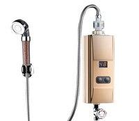 Нижний поток воды на входе горячая вода кран мгновенный проточный кухонный электрический водонагреватель Нагревательный кран Душ банный н
