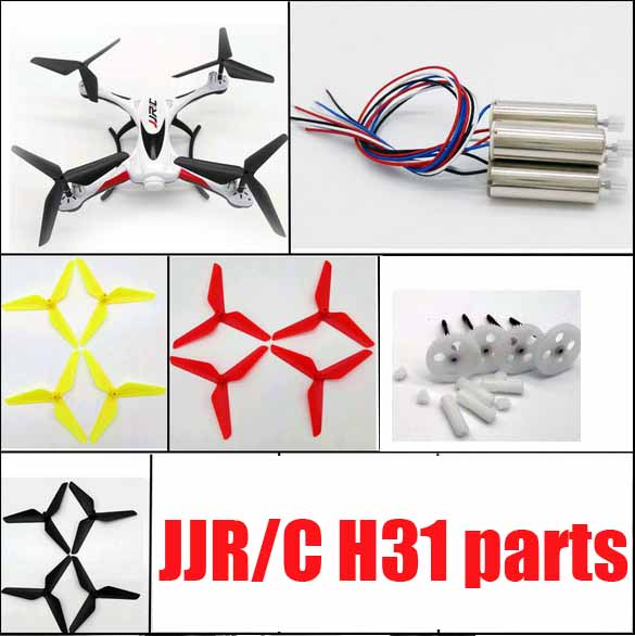 H31 Big gears Motor gear propeller engines upgrade 3 blades for jjrc H31 rc drone Spare Parts jjrc h16 motor gear