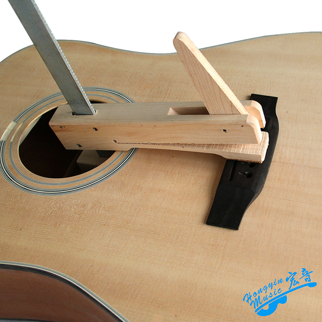Hand-made Hard Maple Wood Iron Deep Throat Clamp For Guitar Cello Violin Bridge F Shape Wood Fixture Woodwork