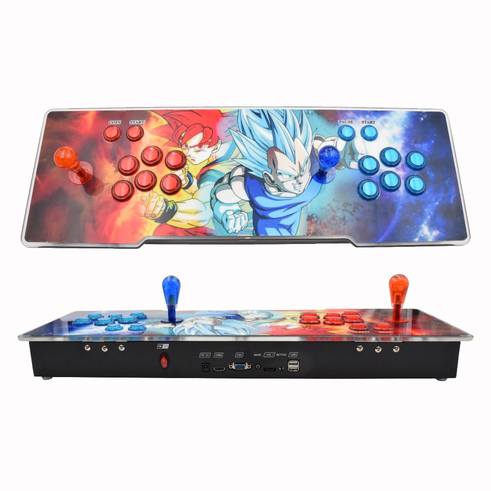Newest arcade game console 1/ 2 players 1388/2020 in l Pandora box 5s in 1 arcade game console