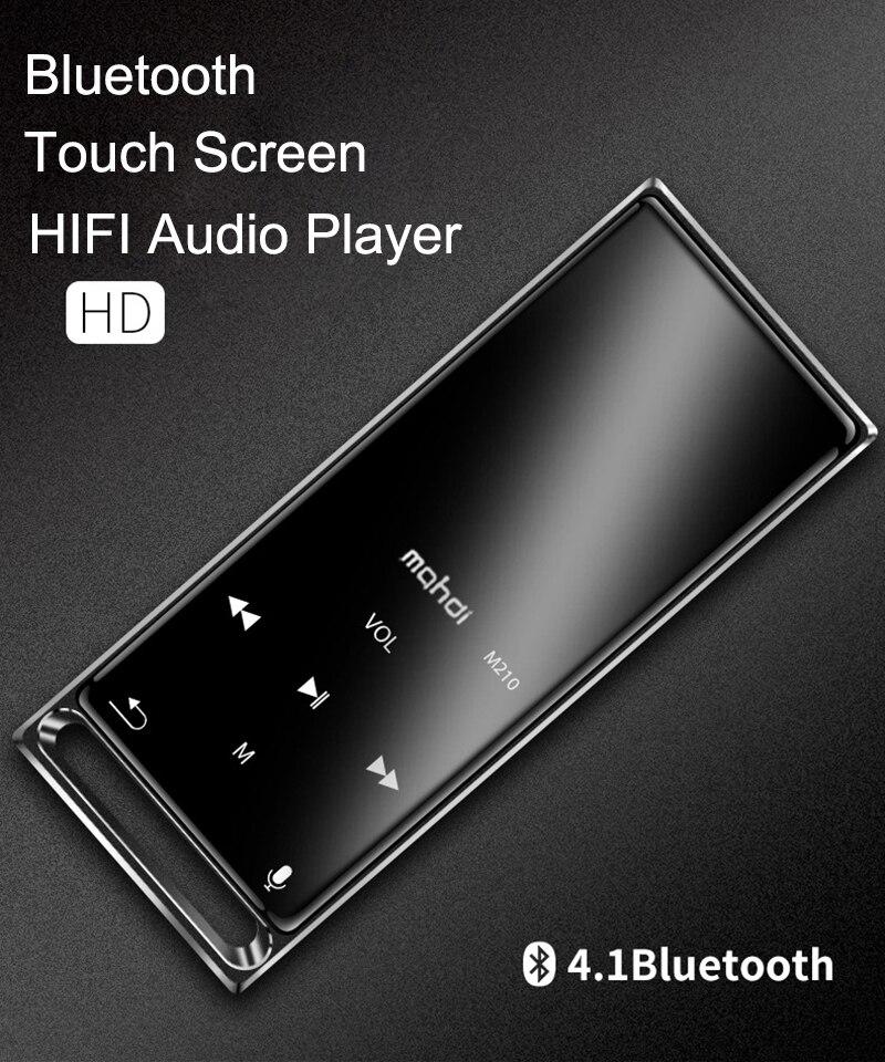 player de música de alta fidelidade 16 gb apoio tf cartão ultra-fino