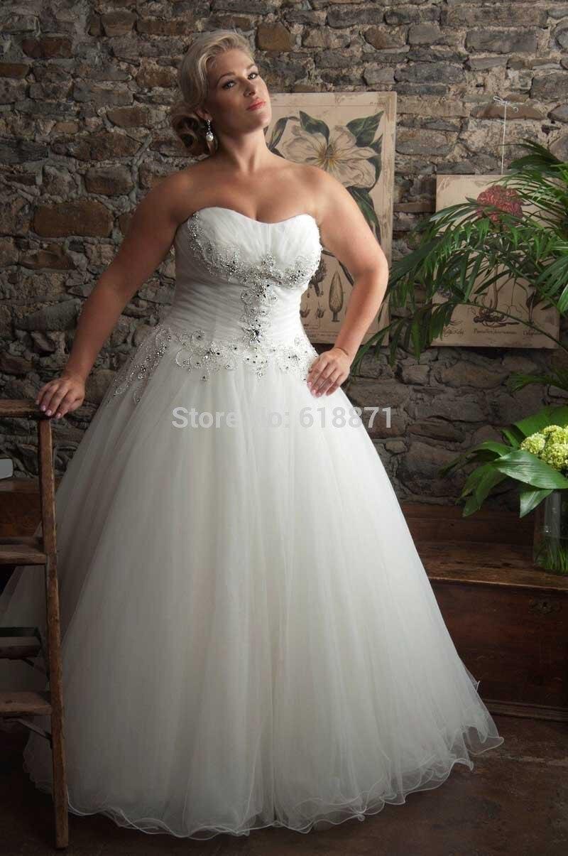 Tolle Brautkleider Für Fette Frauen Fotos - Brautkleider Ideen ...