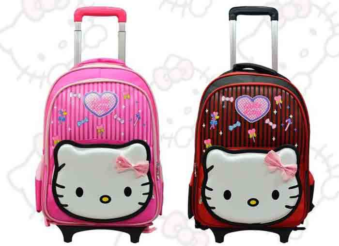 Online Buy Wholesale kids character rolling luggage from China ...