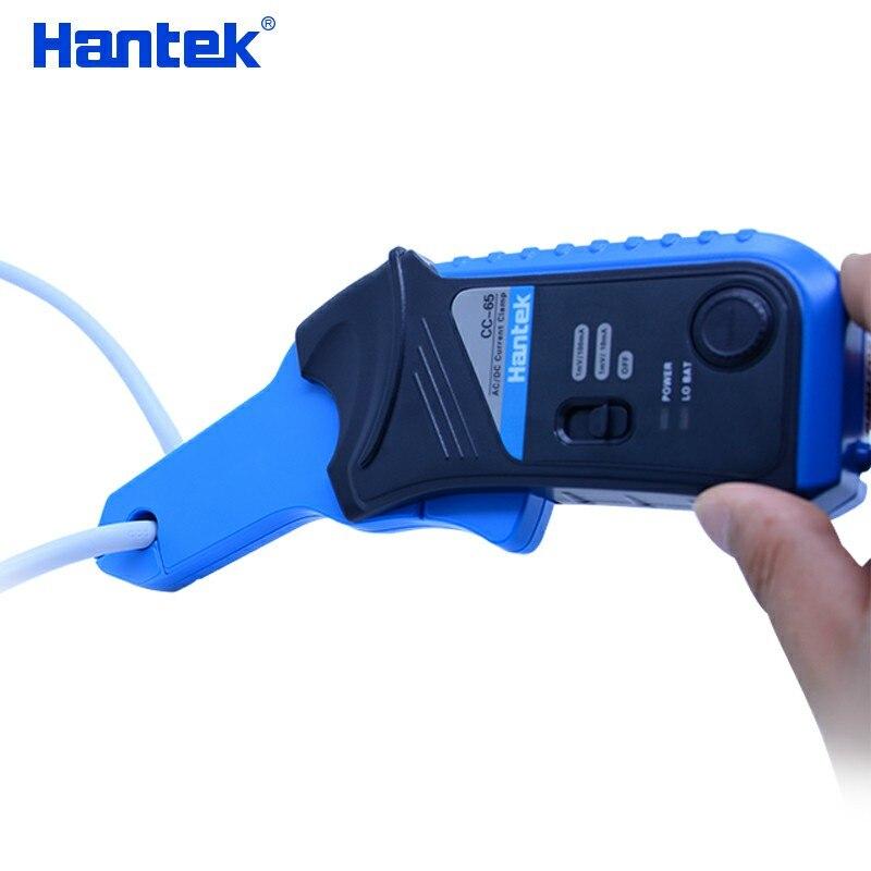 Tools : Hantek AC DC Current Clamp for oscilloscope CC-65 CC-650 20KHz 400Hz Bandwidth 1mV 10mA 65A 650A with BNC plug