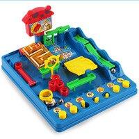 New Montessori desktop toys Waterpark of the Beckham Adventure Child Adult Puzzle Desktop Game Fun Passage Maze Toys
