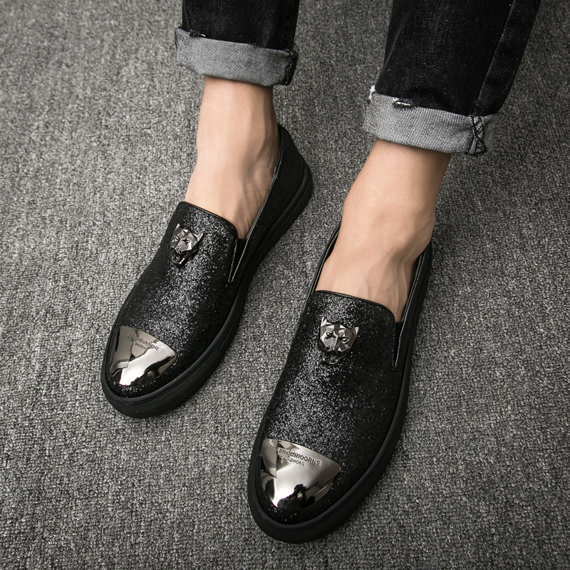 2018 new Summer spring Breathable Leather Flats Loafers Men Casual shoes men Luxury Fashion Slip On Driving shoes 5 vesonal 2017 summer luxury genuine leather flats loafers men shoes casual fashion slip on driving breathable size 38 44 v9669