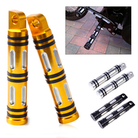 Motorcycle 2pcs Left Right Rear Front CNC Edge Cut Foot Pegs Footrests Fit For Harley Touring