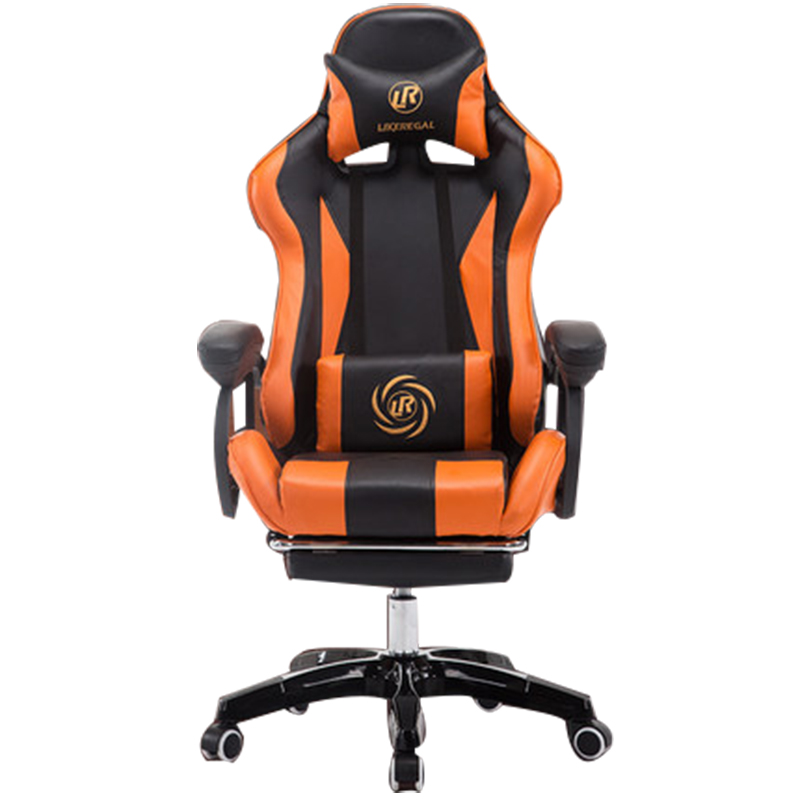 boss chair/office/High density inflatable sponge/ can lie down /360 degrees can be rotated/computer chair boss chair real leather computer chair home massage can lie in the leather chair solid wood armrest office chair 26