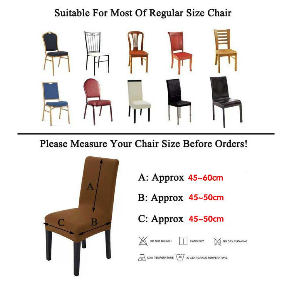 Растягивающиеся Чехлы для стула для свадьбы съемные анти-грязные спандекс эластичный Чехол для стула офисный обеденный стул Slipcover housse de chaise