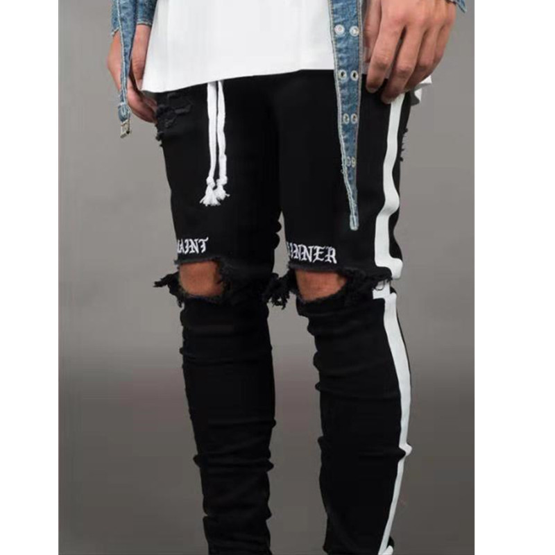New Fashion Skinny Jeans Men Clothes
