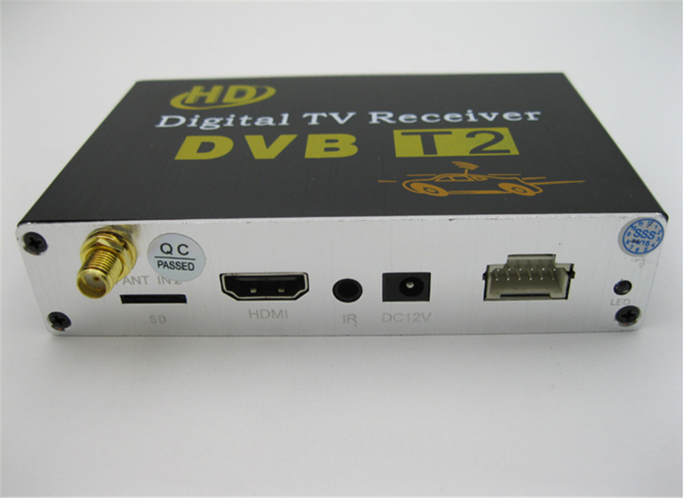 HD DVB-T2 One Tuner Digital TV receiver 4 Video Output 2 Audio Output Fit All Car dvd M-689 just sell with our car dvd together