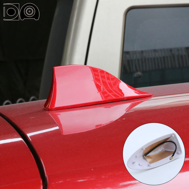 Back shark fin antenna special car radio aerials auto signal styling PET S  for Toyota Corolla accessories