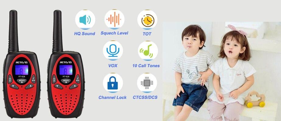 2шт камуфляж цвета RT628 мини рации детские рации 0,5 Вт УВЧ частот портативные радиостанции портативные радиостанции подарок