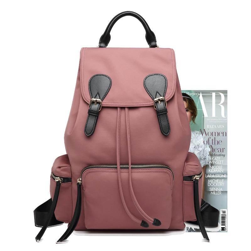 ไนลอนกระเป๋าเป้สะพายหลังหญิง 2019 ใหม่ผ้า Oxford น้ำหนักเบากระเป๋าเดินทางขนาดใหญ่ ins super กระเป๋าสุภาพสตรีกระเป๋าเป้สะพายหลัง-ใน กระเป๋าเป้ จาก สัมภาระและกระเป๋า บน   3