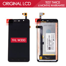 100% Original TESTED 5.0 inch 1280×720 Display For THL W200 W200S W200C LCD With Touch Screen Digitizer Assembly Replacement