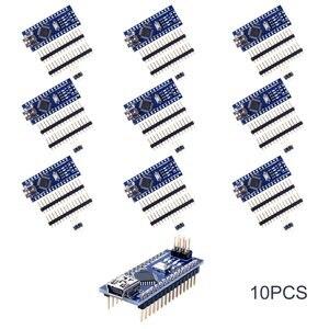 Image 2 - 10pcs Mini Nano V3.0 Atmega328p 5v 16m Micro Controller Board Module For Arduino