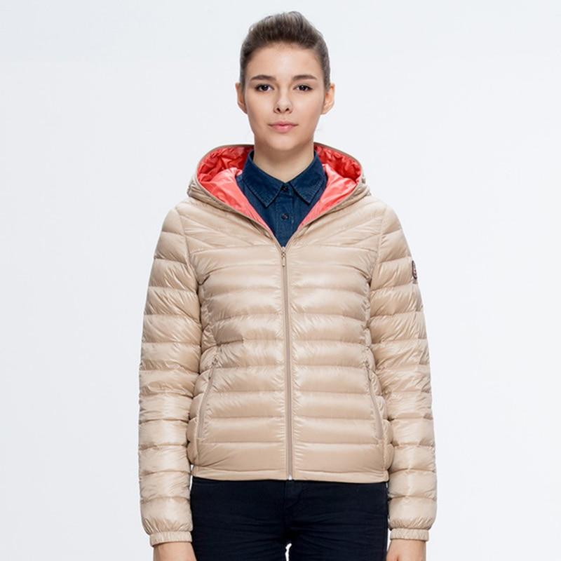 BOSIDENG Winter font b Women s b font Coat Ultra Light Thin font b Down b