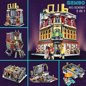 Image 4 - ในสต็อก DECOOL 7115 338 Pcs Batman รถจักรยานยนต์บล็อกอาคาร Marvel Super Heroes ค้างคาว Pod อิฐของเล่นเด็ก 07061 5004590