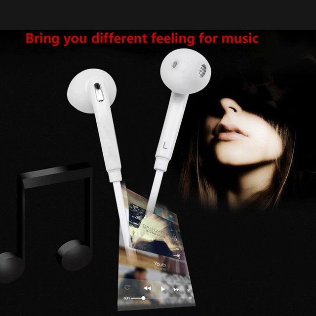 Sports Headphone 3.5mm Headset Earphones with HD Mic Earphone Earbuds for Samsung Galaxy S6 Note7 fone de ouvido Headset